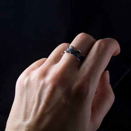 Srebrni prsten po narudžbi