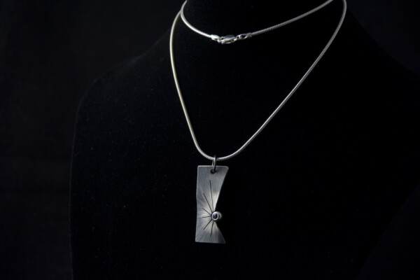 Silver Impact pendant