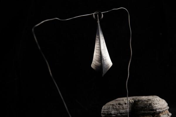 Silver Fang Pendant