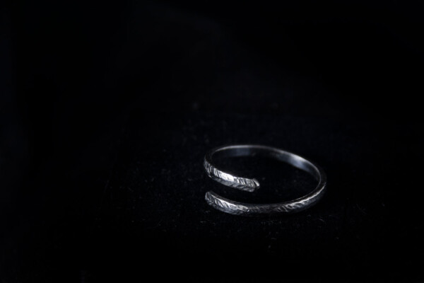 Silver Interspace Ring
