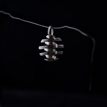 Silver Kirigami pendant