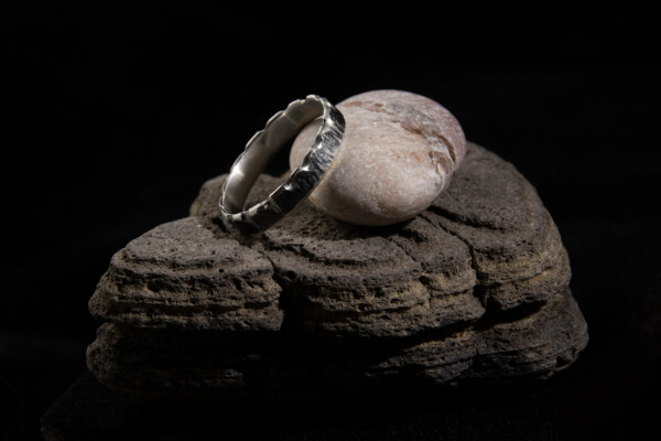 Silver Rough Ring