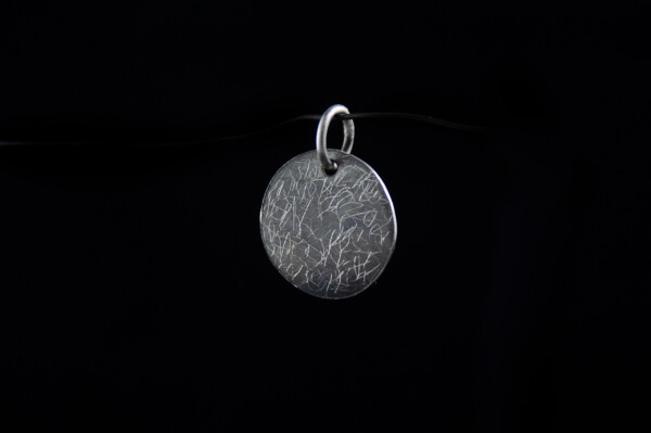 Silver Dust pendant